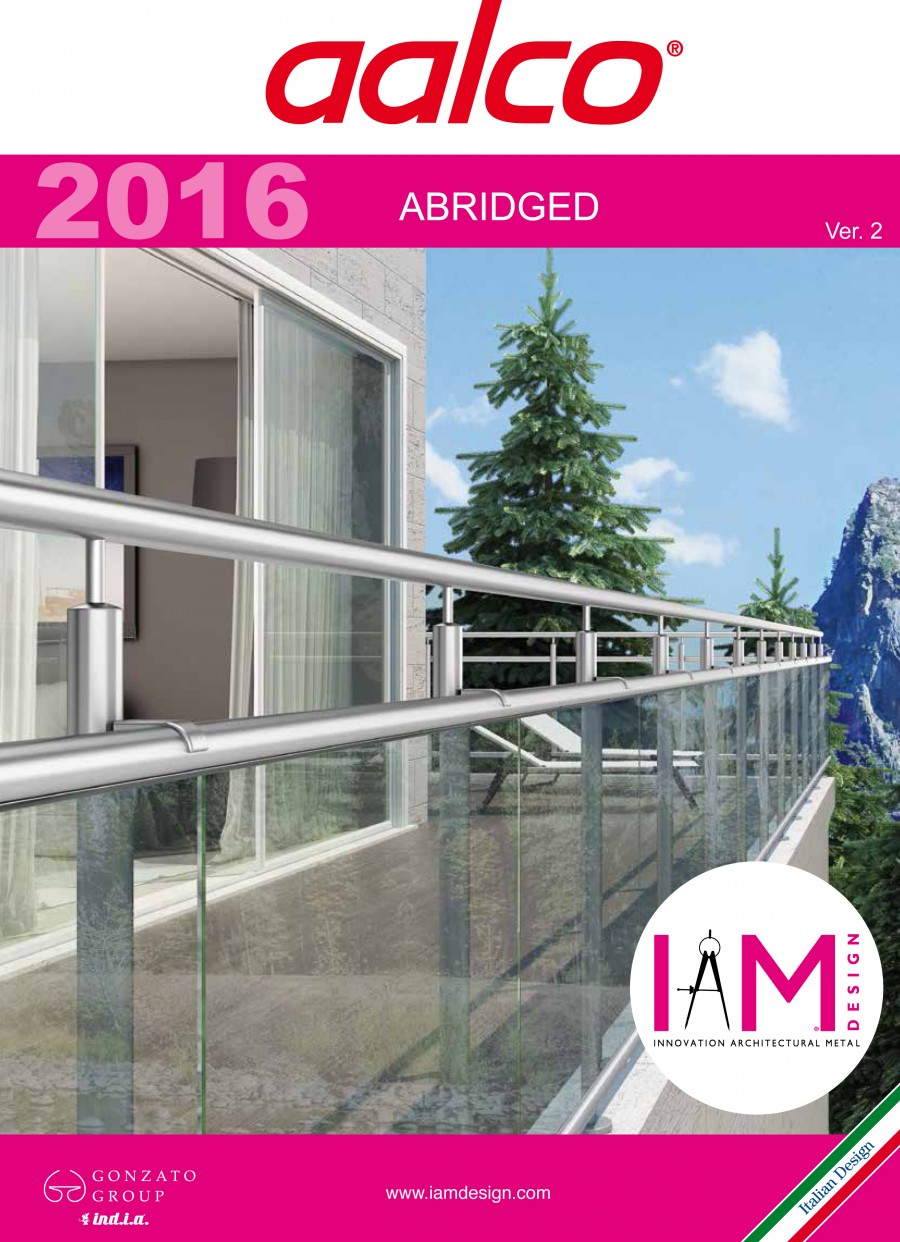 Aalco Stainless Steel Handrail Systems Brochure