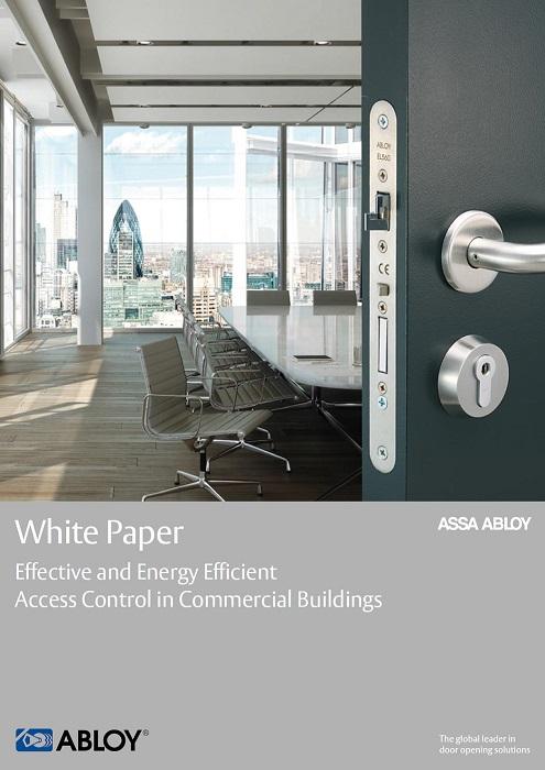 Abloy UK White Paper Energy Efficiency Brochure