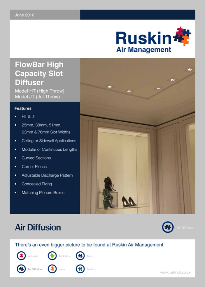 Air Diffsuion FlowBar Brochure
