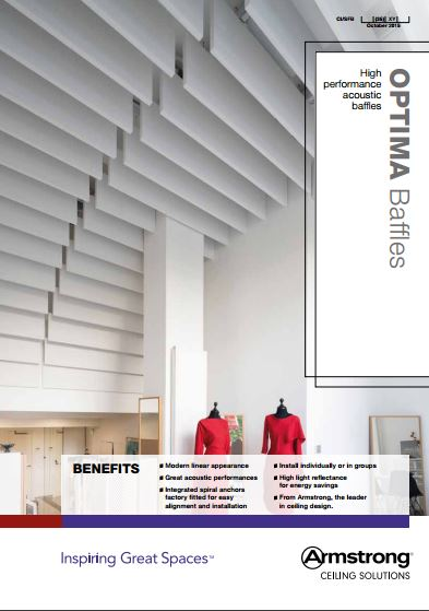 Optima Baffles Brochure