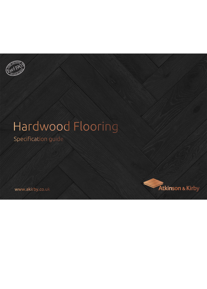 Hardwood Flooring - Specification Guide Brochure