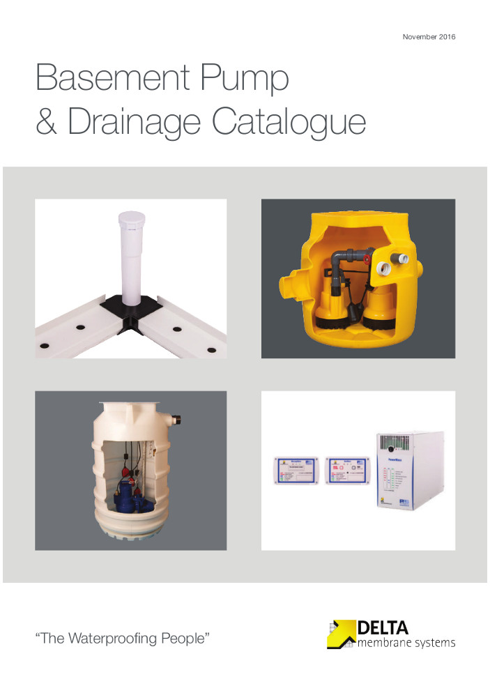 Basement Pump & Drainage Catalogue Brochure
