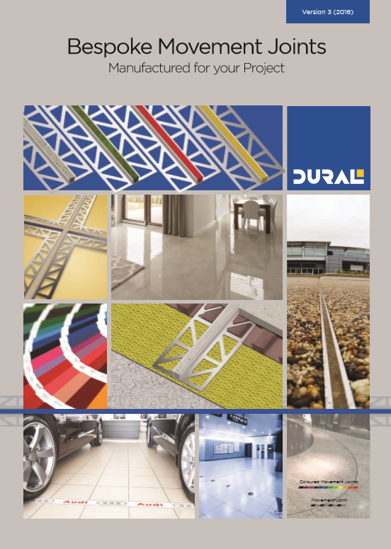 Bespoke Movement Joints | Dural Brochure