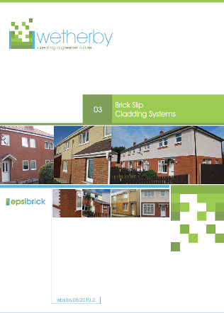 Brick Slip Cladding Systems, Wetherby Building Systems Ltd Brochure