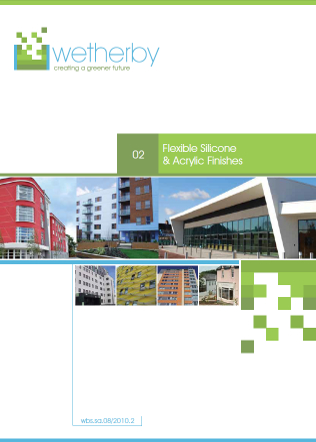 Flexible Silicone and Acrylic Finishes, Wetherby Building Systems Ltd, Curtain walls, cladding Brochure
