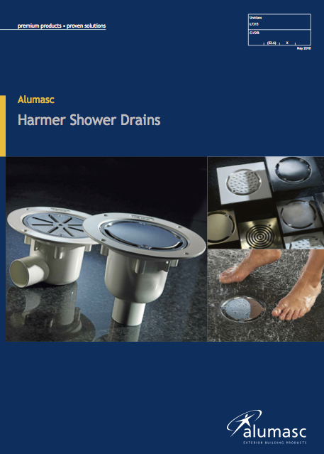 Harmer Shower Drains Brochure