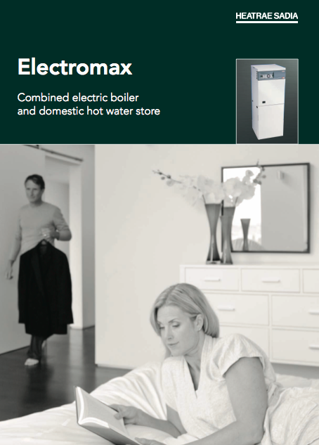 Electromax Combined electric boiler and domestic hot water store Brochure