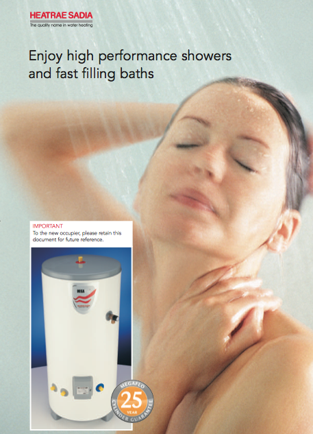 Enjoy high performance showers and fast filling baths Brochure