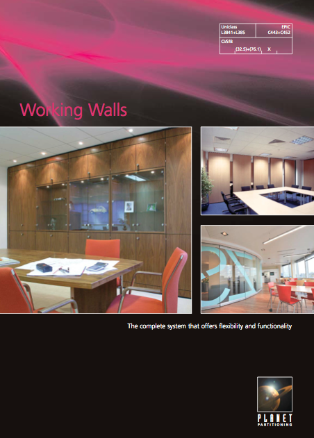 Working Walls Brochure