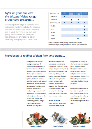 The Future of Rooflights Brochure