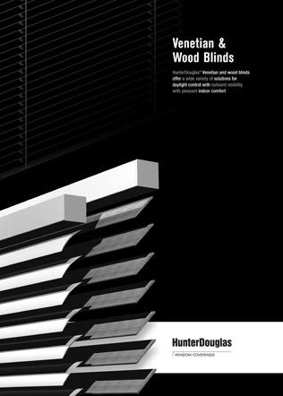 Venetian & Wood Blinds Brochure