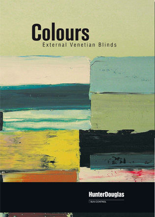 Colours - External Venetian Blinds Brochure