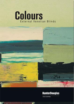 Colours - External Venetian Blinds Brochure