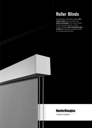 Roller Blinds Brochure