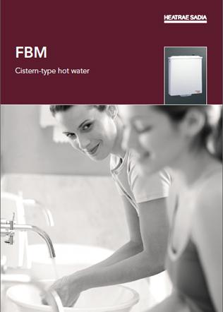 FBM Cistern-type hot water Brochure