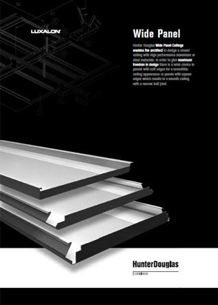 Luxalon Wide Panel Brochure