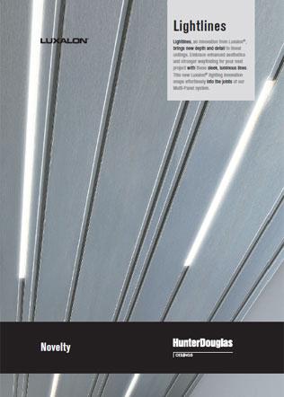 Luxalon Lightlines Brochure