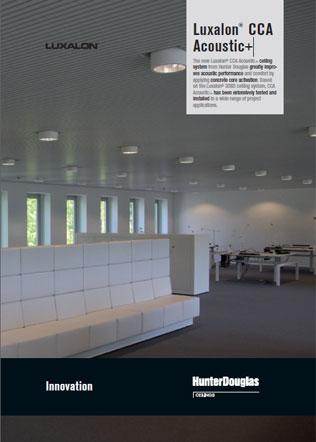 Luxalon CCA  Acoustic+ Brochure