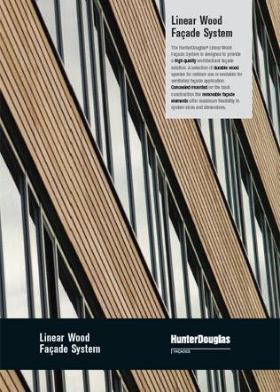 Linear Wood Facade System Brochure