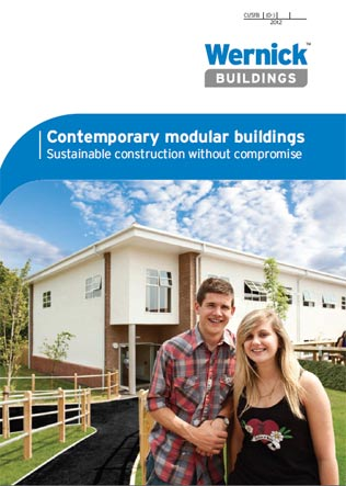 Contemporary modular buildings Brochure