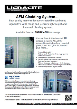 AFM Cladding Systems Brochure