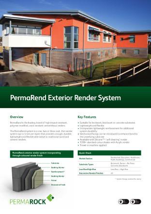 PermaRend Exterior Render System Brochure