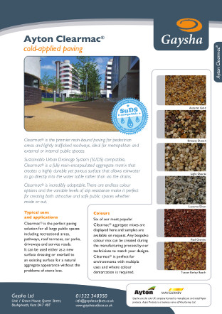 Ayton Clearmac® Brochure