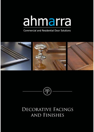 Decorative Facings and Finishes Brochure