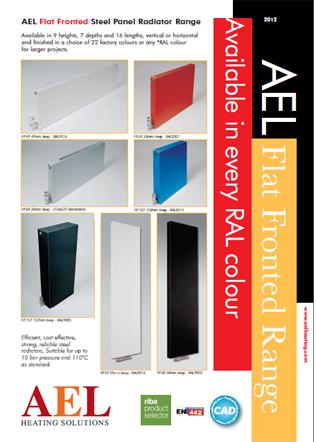 AEL Flat Fronted Range Brochure