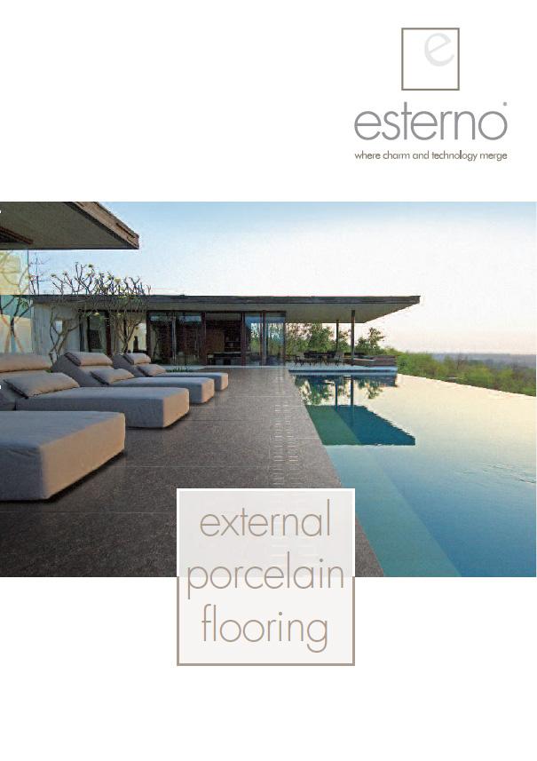 External porcelain flooring Brochure