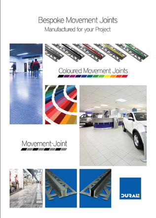 Bespoke Movement Joints Brochure