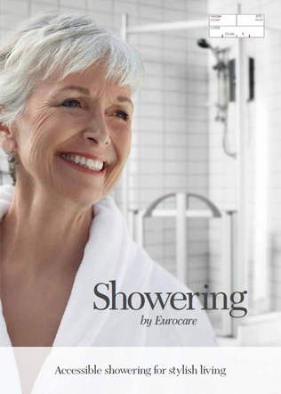 Accessible showering for stylish living Brochure