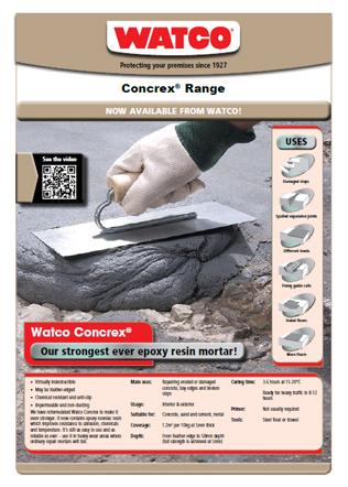 Concrex Range Brochure