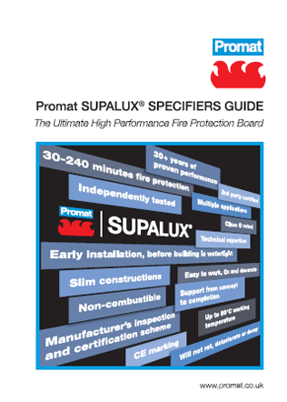 Promat SUPALUX® SPECIFIERS GUIDE Brochure