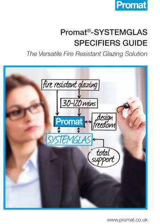 Promat SYSTEMGLAS SPECIFIERS GUIDE Brochure