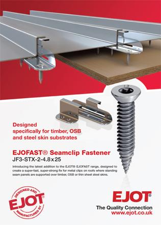 EJOFAST® Seamclip Fastener Brochure