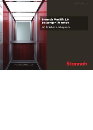 Maxilift passenger lifts Brochure