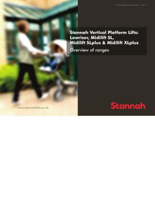 Midilift platform lift Brochure