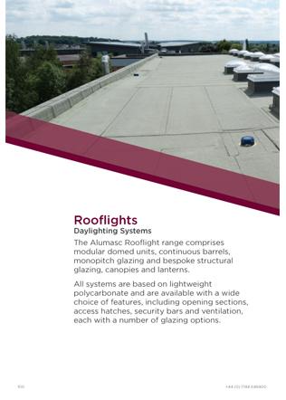 Rooflights Daylighting Systems Brochure