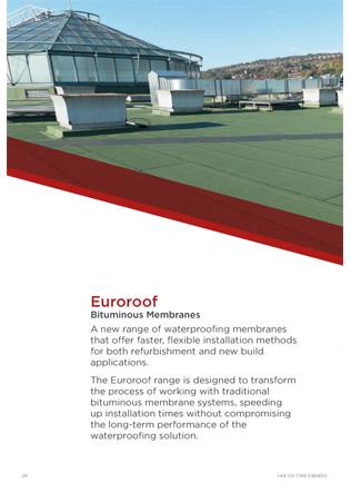 Euroroof Bituminous Membranes Brochure