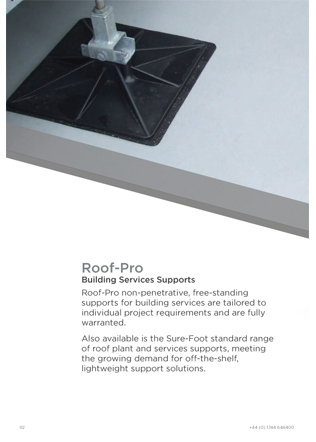 Roof-Pro Building Services Supports Brochure