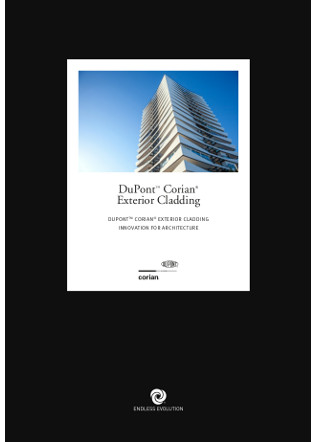 Corian® Solid Surface External Cladding, CD (UK) Ltd, Facades and roofs Brochure