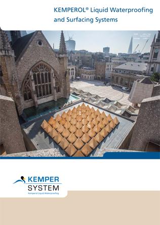 KEMPEROL Liquid Waterproofing and Surfacing Systems Brochure