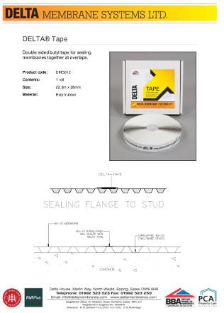 DELTA® Tape Brochure
