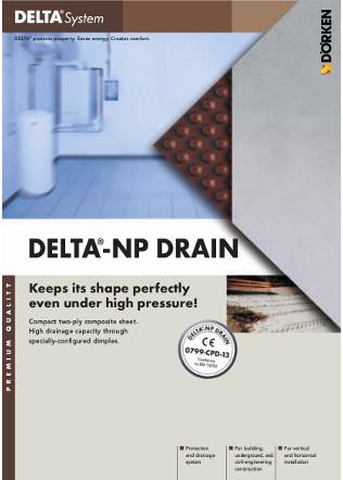 DELTA®-NP DRAIN Brochure