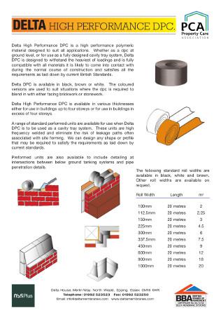 High Performance DPC Brochure