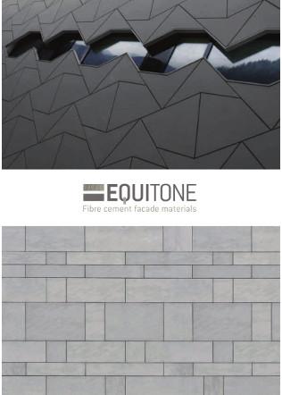 EQUITONE Fibre cement Facade materials Brochure