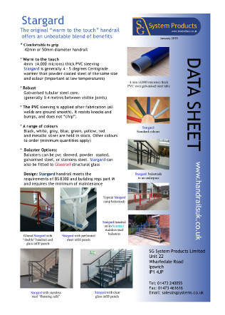 Stargard Data sheet Brochure