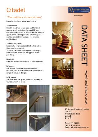 Citadel data sheet Brochure