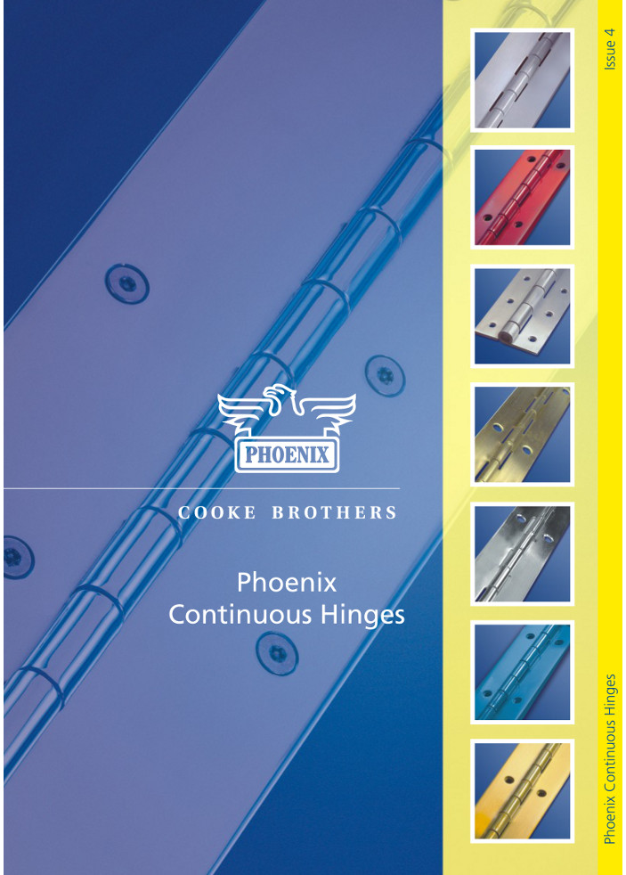 Cooke Brothers - Continuous Hinges Brochure